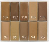 Maqpro PP20 SLIM 10er Palette Fard Creme 15ml