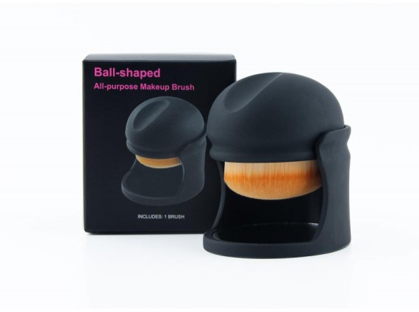 Ball-shaped Makeup Brush