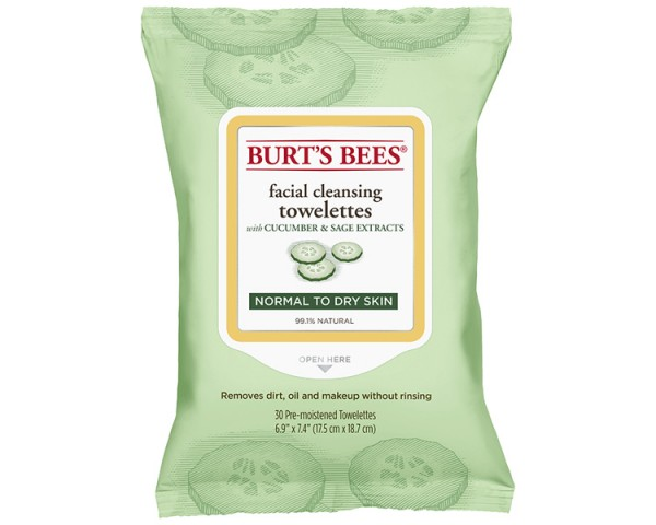 Burt's Bees - Cleansing Towelettes Cucumber 30St.