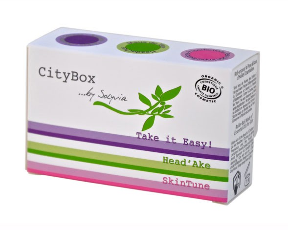 Solyvia - CityBox (Take it Easy!, Head'Ake, SkinTune), 3 X 5ml