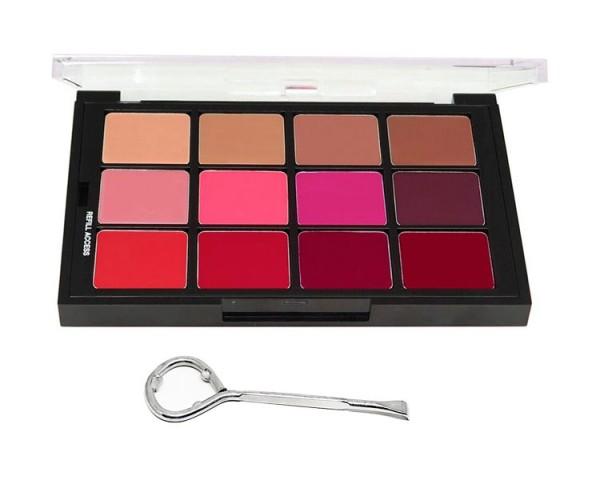 Ben Nye - All-For-One Lip Color, 12er Palette
