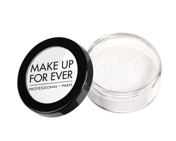 MAKE UP FOR EVER - Super Mat Loose Powder, 10g (inkl. Quaste)