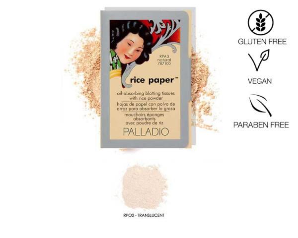 Palladio - Rice Paper Puderpapier Translucent