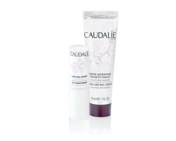 Caudalie - Duo Crème Gourmande   Soin Lèvres