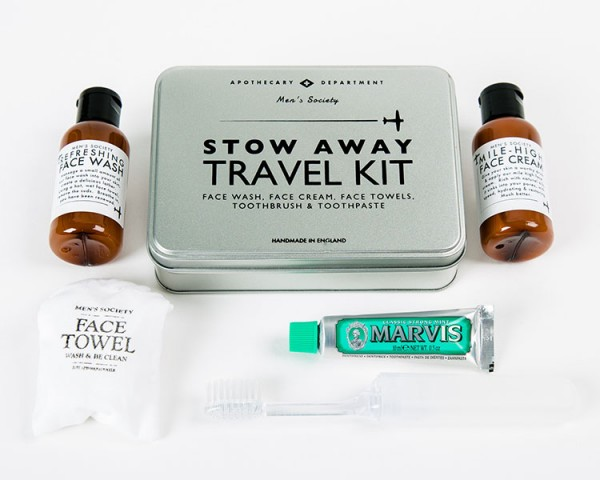 Men's Society - Stow Away Travel Kit