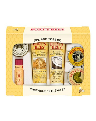 Burt's Bees - Tips and Toes Kit 6er