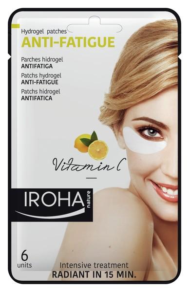 Iroha - Vitamin C Eye Pads Anti-Fatigue, 6 Stück