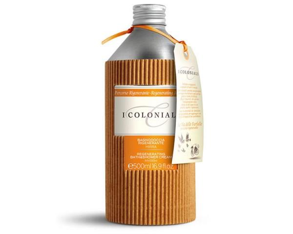 I Coloniali - Regenerating - Bade- und Duschcreme Myrrhe, 250ml