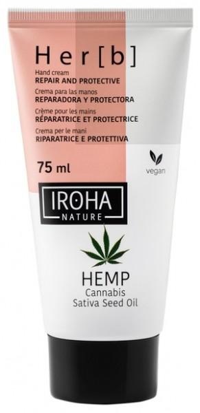 Iroha - Hemp - Hand Cream, 75ml