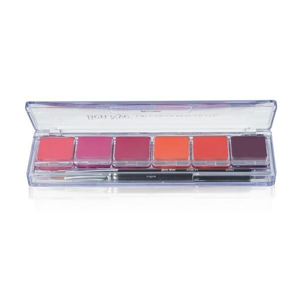 Ben Nye - LSP3 California Sunset Lip 6er Palette