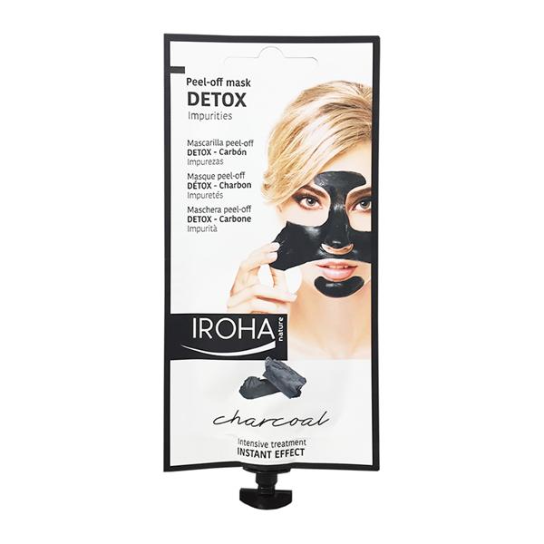 Iroha - Peel-off Mask  DETOX 3 Anwendungen