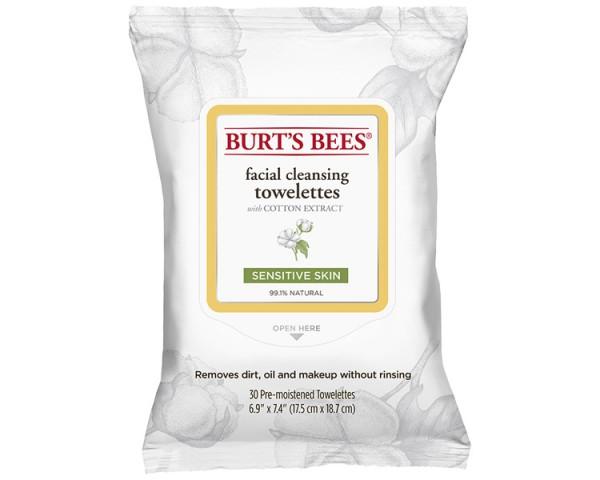 Burt's Bees - Sensitive Towelettes 30St.