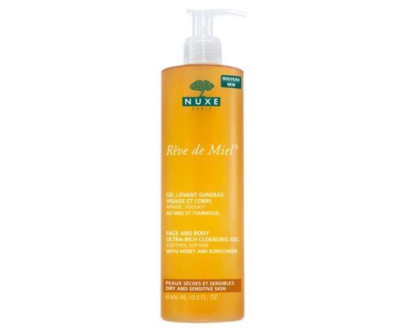 Nuxe - Rêve de Miel - Reinigungsgel für Gesicht und Körper, 400ml
