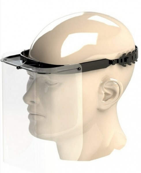 Gesichtsschutzmaske Coverglass long