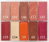 Maqpro BLUSH SLIM 10er Palette Fard Creme 15ml