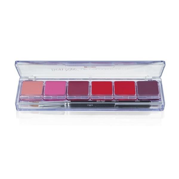 Ben Nye - LSP2 Fashion Lip 6er Palette