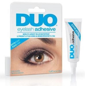 Duo - Wimpernkleber White/Clear Blau 7g