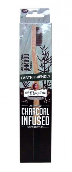 My Magic Mud - Zahnbürste Charcoal Infused Bamboo