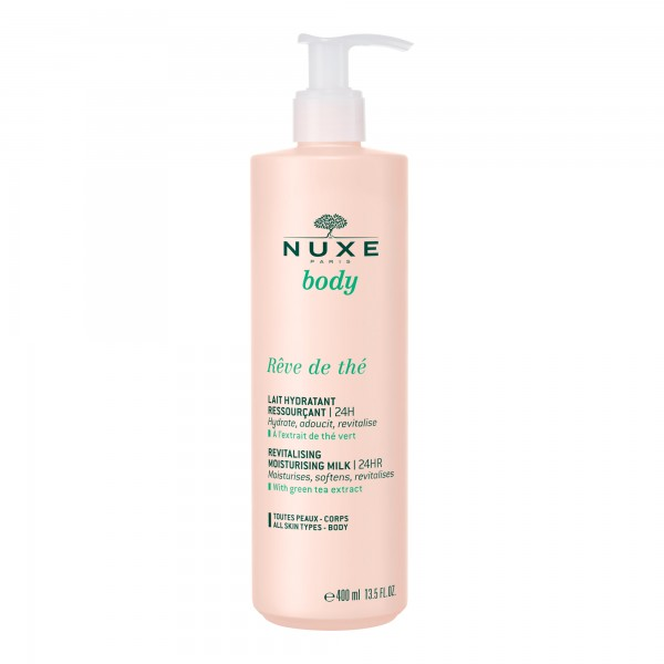 NUXE - Reve de The - Lait Hydratant Ressourcant 400ml