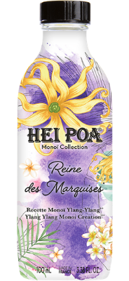 Hei Poa - Pur Monoi Ylang Reine des Marquises 100ml