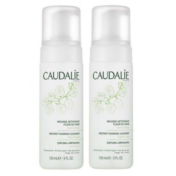 Caudalie - Mousse Nettoyante Fleur de Vigne 2x150ml