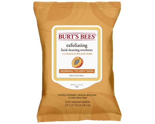 Burt's Bees - Exfoliating Towelettes Peach 25St.