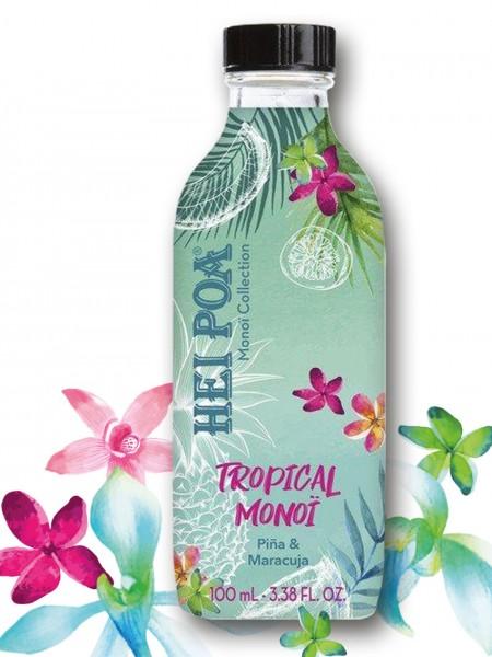 Hei Poa - Tropical Monoi Pina & Maracuja, 100ml