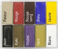 Maqpro FX SLIM 10er Palette Fard Creme 15ml