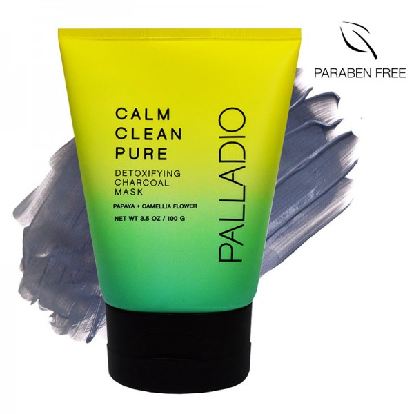 Palladio Calm Clean Pure Detoxifying Charcoal Mask