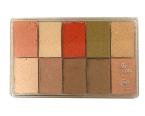Maqpro - BELA.11 - SLIM 10er Palette Fard Creme, 15ml