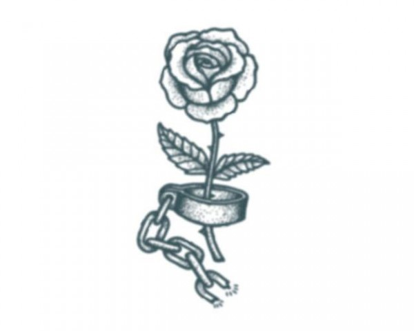 Tattooed!Now! Prison Rose