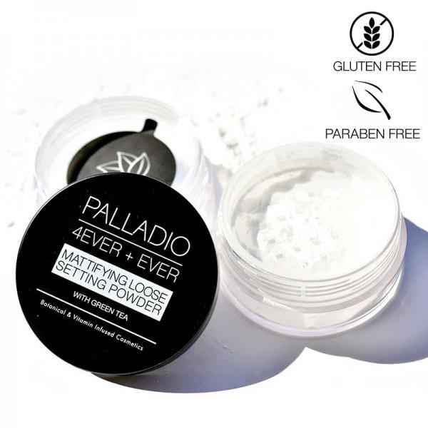 Palladio - 4Ever+Ever Mattifying Loose Powder, 6g