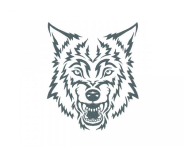 Tattooed!Now! Tribal Wolf