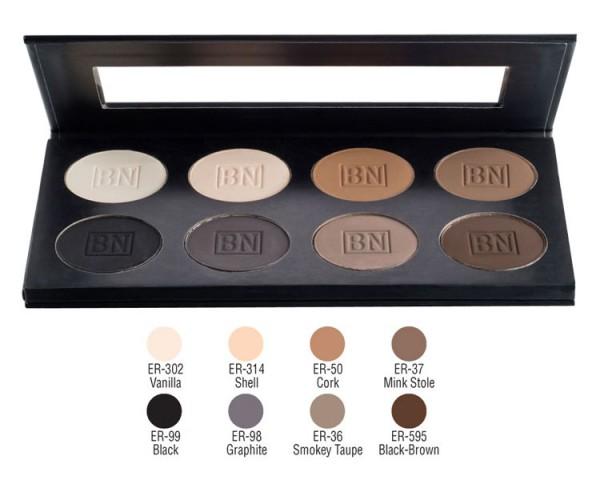 Ben Nye - ESP912 Essential Eye Shadow 8er Palette