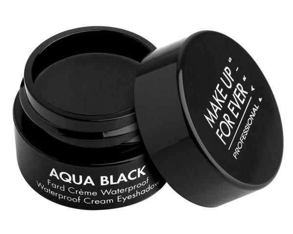 MAKE UP FOR EVER - Aqua Black, Waterproof Cream Eyeshadow 7g