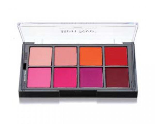 Ben Nye - STP65 Studio Palette Vivid Blush Powder 8er Palette