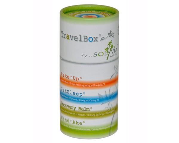 Solyvia - TravelBox (Wake´Up, JetSleep, Head'Ake, Corsica Balm), 3 X 5ml + 15g