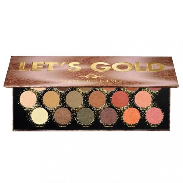 MAKE UP FOR EVER - Let's Gold Eye Palette 16,2g