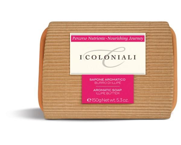 I Coloniali - Nourishing - Aromatische Seife mit Illipè-Butter, 150g