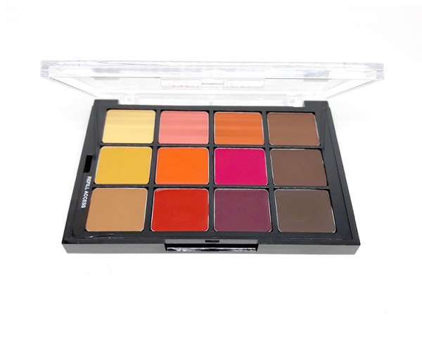 Ben Nye - STP13 Studio Palette Blush&Contour Creme Colors, 12er Palette
