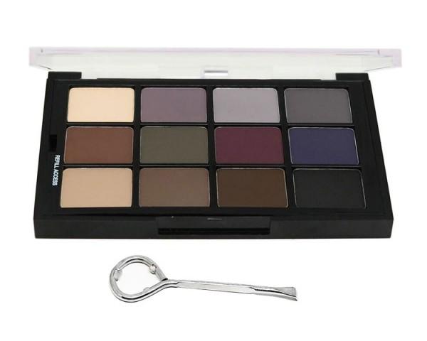Ben Nye - Cool Glam Shadow, 12er Palette