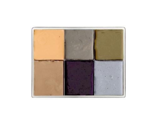 Maqpro - HD Death Palette Fard Creme 6 Farben flach, 55g