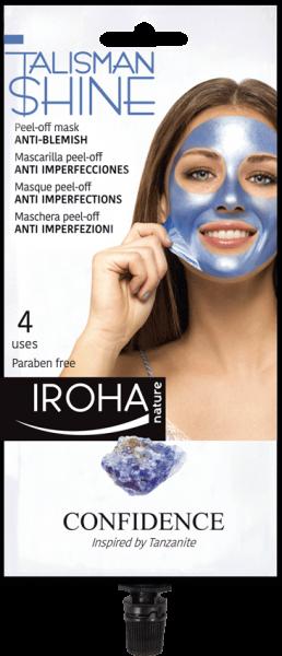 Iroha Talisman - Blue Peel-Off Mask CONFIDENCE, 25g
