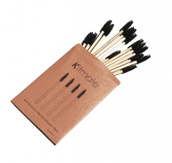 Kitmate - Bamboo Mascara Wand 25er Pack Eco-friendly