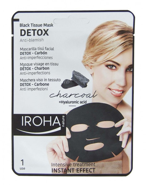 Iroha - Black Tissue Mask DETOX