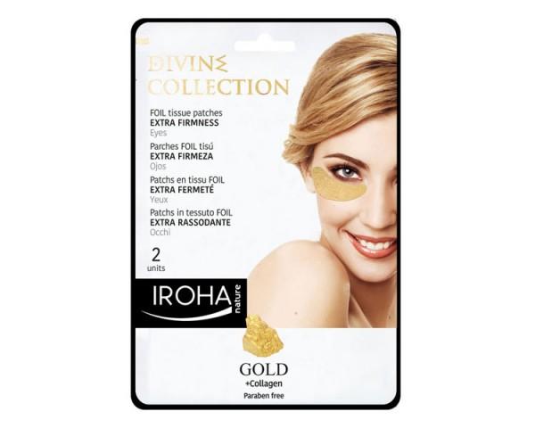 Iroha Gold Eye-Pads Firming (2 Stück)