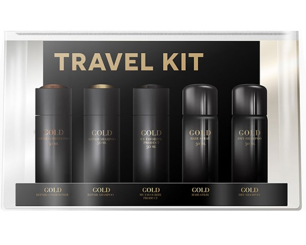 Gold Haircare - Travel Kit