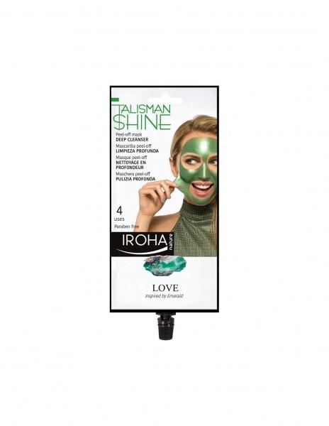 Iroha Talisman - Green Peel-off Mask LOVE, 25g