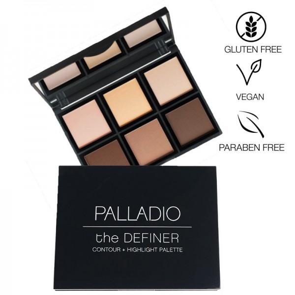 Palladio - The Definer Contour & Highlight Palette